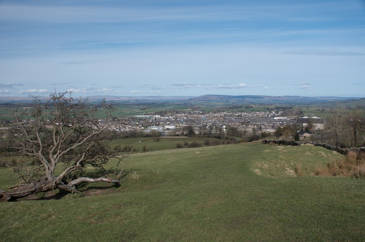 Barnoldswick from Weets Hill