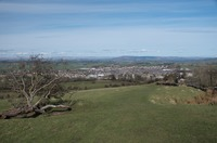 Barnoldswick from Weets Hill photo
