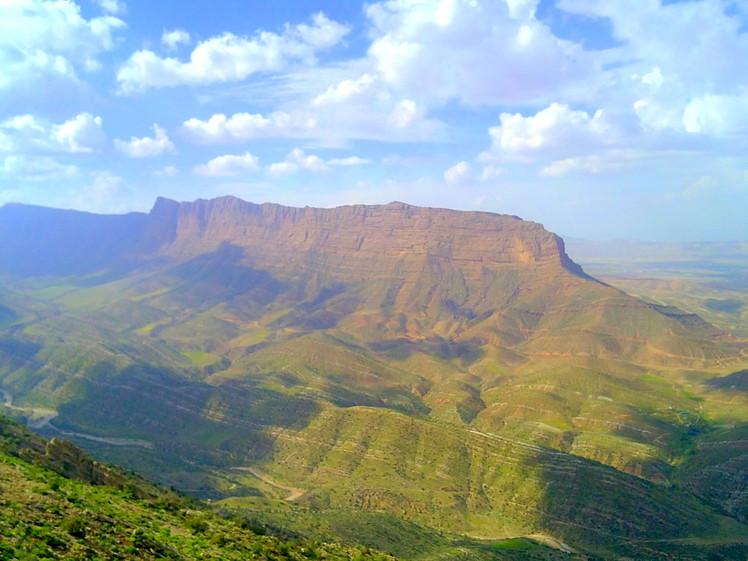 Mount Ghalat West face