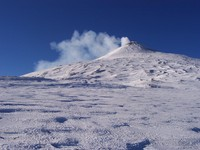 Etna summit in winter, Monte Etna photo