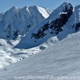 Skiing down Kasprowy Wierch (Hala Gasienicowa)