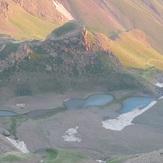 Zarrinkouh lakes, Alam Kuh or Alum Kooh