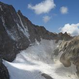 Spilet glacier, Alam Kuh or Alum Kooh