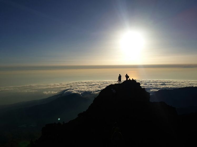 3726m usl, Mount Rinjani