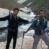 Hesar chal Route, Alam Kuh or Alum Kooh