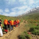 صعود خانواده کوهنوردان والاهمت به دماوند, Damavand