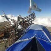 Campamento en la cima, Pico de Orizaba