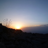 94-5-16 sun rise - goshgoli-3710 m