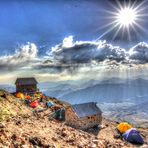 Simorgh shelter Damavand Mt.