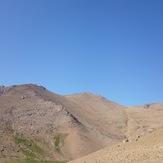 view of yakhchal peak, Alvand