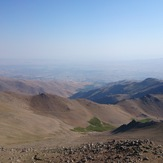 vie of hamedan from yakhchal peak, Alvand