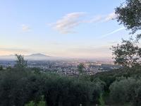 Vesuvio viewed from Caserta Vecchia, Vesuvius photo