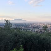 Vesuvio viewed from Caserta Vecchia, Vesuvius