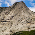 Yak's Granite face, Yak Peak