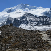Huayna Potosi from base camp