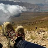height 3900 meter (lar lake), Damavand