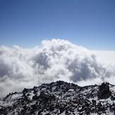 Above the clouds, Sabalan