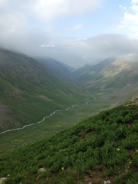 Yaylalar-valley, Kaçkar Dağı or Kackar-Dagi