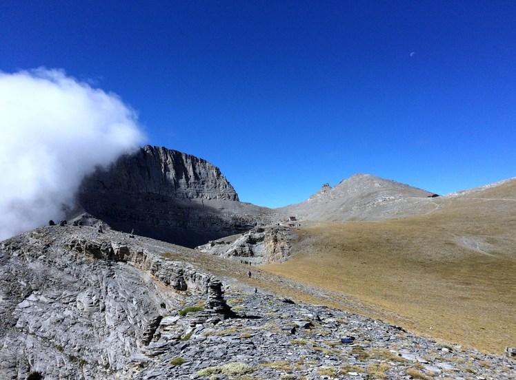 Oropedio, Mount Olympus