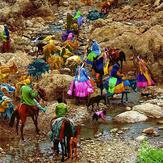 naser ramezani Bakhtiari tribe, Zard-Kuh