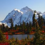 Mt Shuksan in the Fall, Mount Shuksan