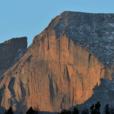 Sunrise on the Diamond, Longs Peak