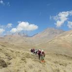 The Sabalan peak, سبلان
