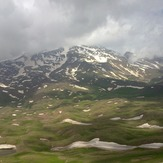 The Sabalan peak, سبلان