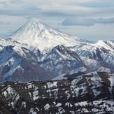 View of Damvand from kolakchal peak