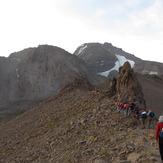 Climbing to the Sabalan, سبلان