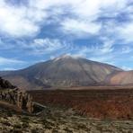 Mount Teide from Las Canadas, El Tiede Tenerife