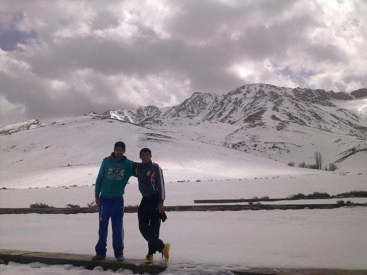 خوانسار-دشت لاله واژگون در زمستان, Sofeh