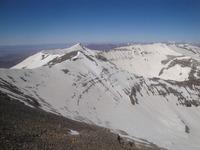 cresta de Mgoun, M'Goun photo