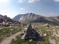 Mount Evans + Cairn photo