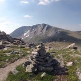 Mount Evans + Cairn