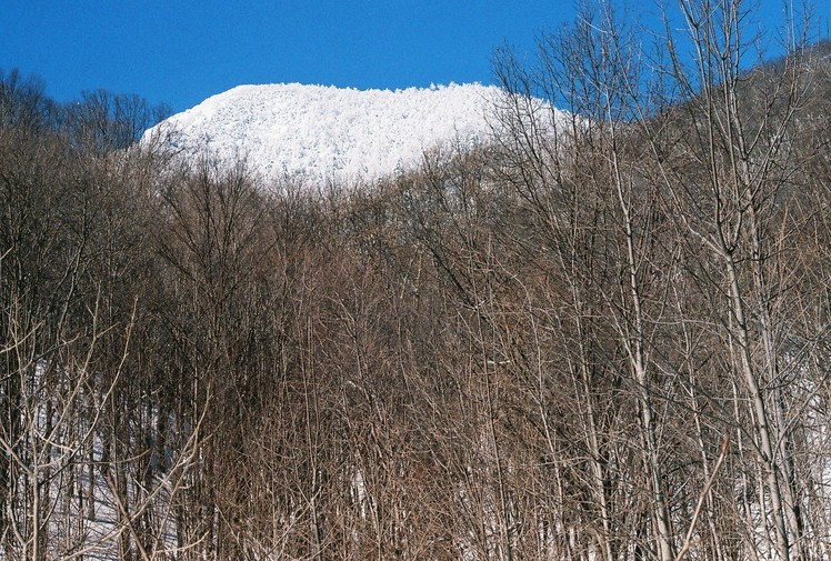 Three Top Mtn. in snow, Three Top Mountain (North Carolina)