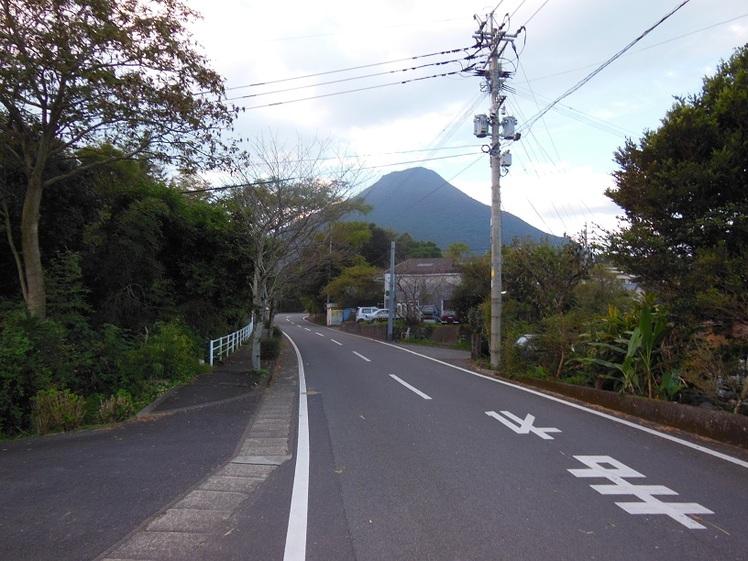 Approach to trailhead, Kaimondake volcano