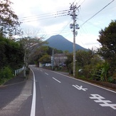 Approach to trailhead, Kaimondake volcano