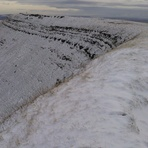 Fan Brycheiniog In Winter