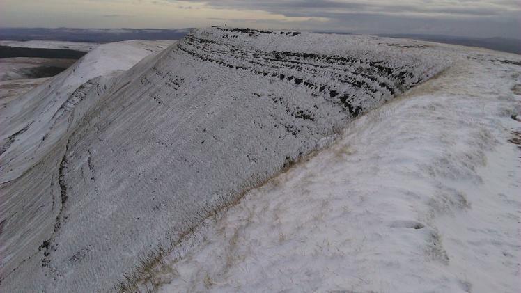 Fan Brycheiniog In Winter
