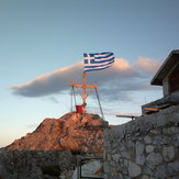 top of Athos 2033m.
