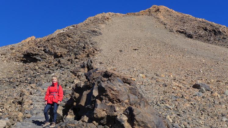 Pico de Teide: the last meter before reaching the peak