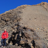 Pico de Teide: the last meter before reaching the peak
