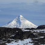 Volcan Lanin desde Co Rucachoroy, Lanín