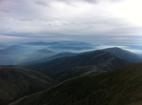 From summit in Autumn, Mount Feathertop photo