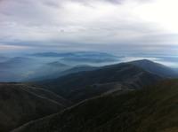 From summit in Autumn, Mount Feathertop photo