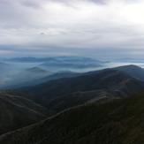 From summit in Autumn, Mount Feathertop