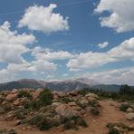 Almagre from Mt. Rosa Summit, Almagre Mountain