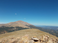 Almagre North Summit View to Pikes Peak, Almagre Mountain photo