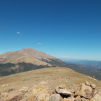 Almagre North Summit View to Pikes Peak, Almagre Mountain